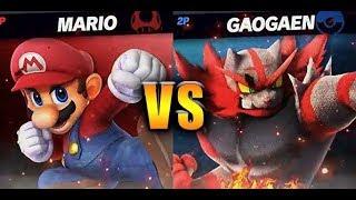 Mario vs Incineroar