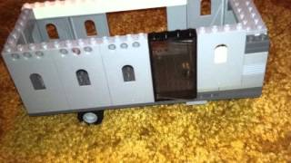 How to make a lego camper