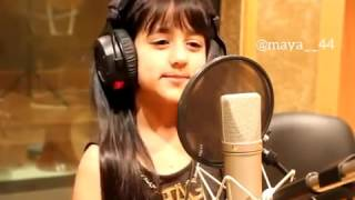 Cute Baby Awesome Voice Arabic Song width=
