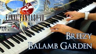 🎵 Breezy & Balamb Garden (Final Fantasy VIII) ~ Piano cover by Moisés Nieto