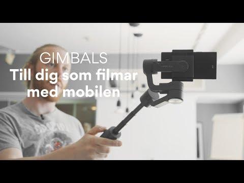 Gimbals till dig som filmar med mobilen