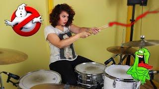 GHOSTBUSTERS (drum cover) | Kat Almagro