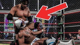 Guerra de Titanes 2018: Hijo del Fantasma vs. Texano Jr.