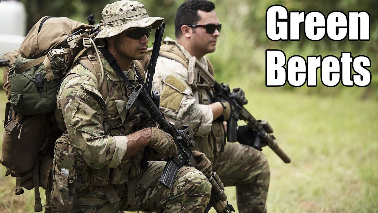U.S. Army Special Forces | Green Berets | Quiet Professionals