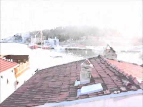 İstinye Balyemez Çıkmazı Sonundaki Satılık Müstakil Ev Teras Manzarası