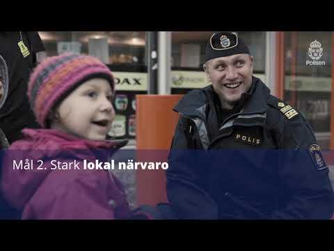 Nästa steg för svensk polis