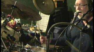 Up Tempo Double Kik Rock Shuffle Drums With Vocal Improv....