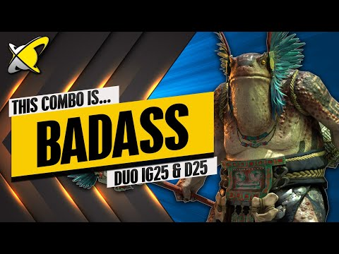 "RAID'S MOST ""BADASS"" COMBO!! | D25 & IG25 Duo Build & Masteries | RAID: Shadow Legends"