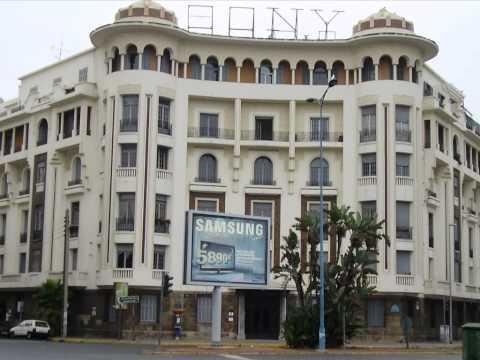 Casablanca, Maroc et l'Art Déco.wmv