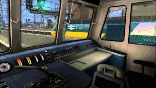 Train Simulator 2013 with added rain sound effects Test