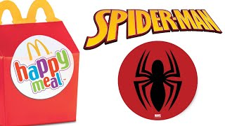 Happy Meal Flying Spider Man McDonald's Toys
