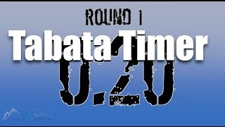 Tabata Timer (without annoying music!)