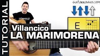como tocar Villancico La Marimorena en guitarra MUY FACIL! acordes guitarra villancico