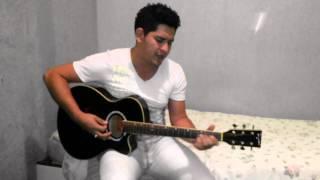 Cleiton Brandao .Cantando  A musica: Um bom perdedor de Bruno e Marrone
