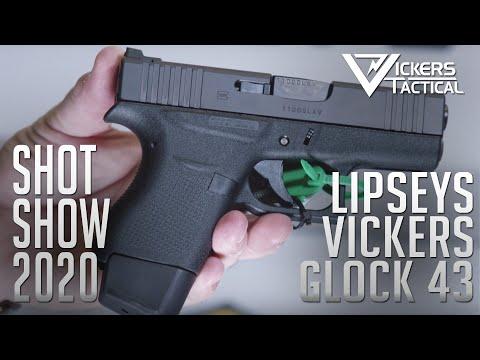 SHOT SHOW 2020 - Lipsey's Vickers GLOCK 43