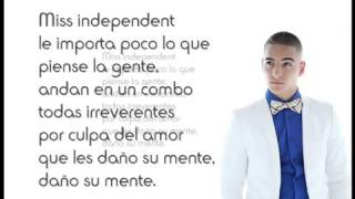 Miss Independent Maluma Letra   Mlm 2012 Exelente