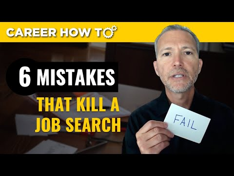 6 Big Job Search Mistakes You Don't Want to Make photo