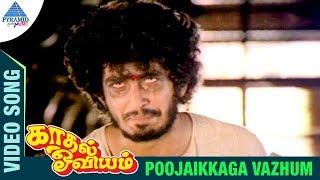 Kaadhal Oviyam Tamil Movie Songs | Poojaikkaga Vazhum Video Song | Radha | Kannan | Ilayaraja