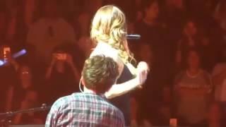 NEW!! Last Scene (Charlie Puth We Don't Talk Anymore Ft Selena Gomez Live @ Revival Tour Anaheim)
