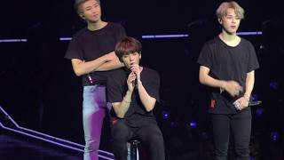 Answer: Love Myself - BTS 방탄소년단 Love yourself in London DAY 2 FANCAM 직갬