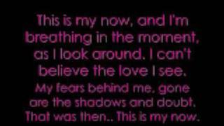 This Is My Now - Jordin Sparks Lyrics