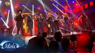 Top 10 Reveal: Group Two in formation | Idols SA Season 13