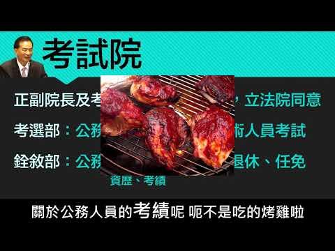【八上公民】【觀念】考試院 - YouTube