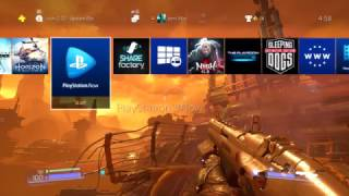 Create your own custom wallpaper and profile colour -PS4 Update 4.50