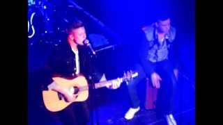 Etham Basden - Breakeven (The Script Cover) - o2 academy islington 14th May 2013