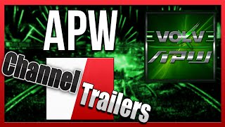 Almost Professional Wrestling (APW) - Channel Trailer