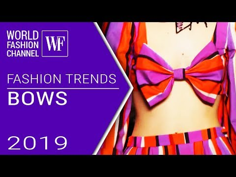 Bows | Fashion trends spring-summer 2019