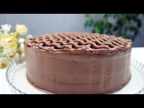Быстрый ШОКОЛАДНЫЙ Торт без Пропитки!Самый Мягкий Влажный Мега Шоколадный Пирог!
