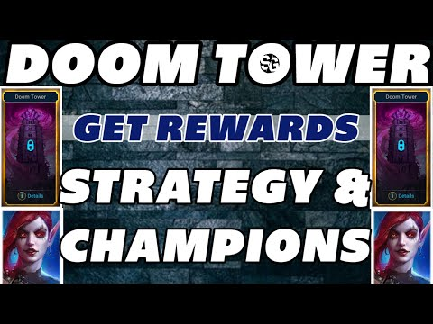 DOOM TOWER STRATEGY & CHAMPIONS GET REWARDS RAID SHADOW LEGENDS DOOM TOWER GUIDE