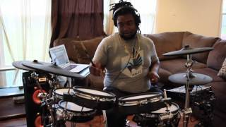 Fusion Funk - Damani Rhodes - Drum cover by: Retro Spectro