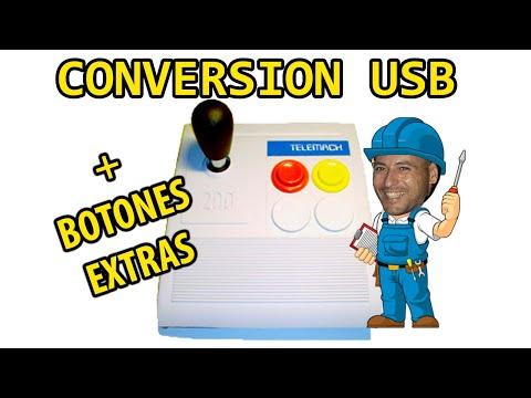 COMO CONVERTIR TELEMACH 200 A USB + AÑADIR BOTONES