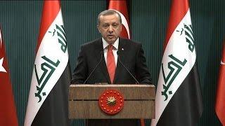 IS 'virus' seeks to destroy Muslim world: Erdogan