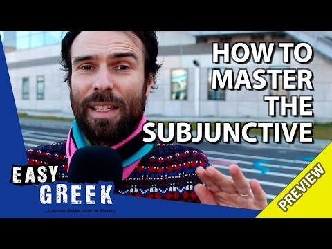 How to master the Greek subjunctive (PREVIEW) | Super Easy Greek 23 photo