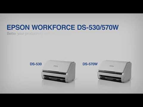 Epson WorkForce Color Document Scanner