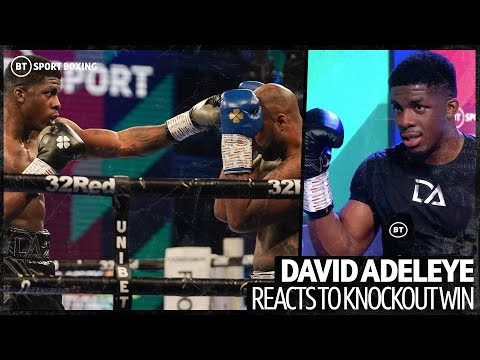 """""""He's weak to the body!"""" Tyson Fury's sparring partner David Adeleye reacts to another knockout win 12"""
