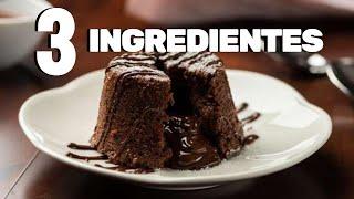 BOLO MOUSSE DE CHOCOLATE COM 3 INGREDIENTES