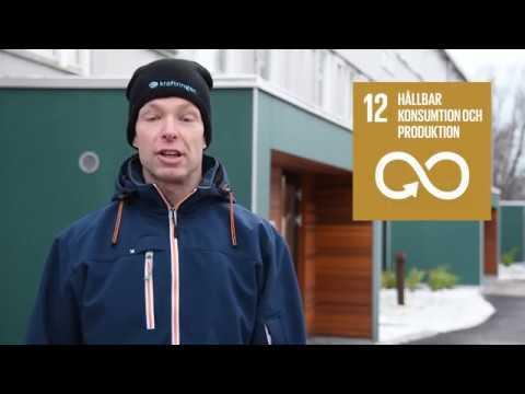 FN:s globala hållbarhetsmål: Effektivare energianvändning