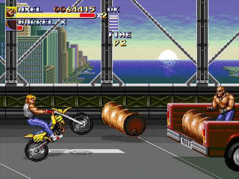 Streets of Rage Remake (Route 4: Axel) (Bomber Games) (Windows) [2011] [PC Longplay]
