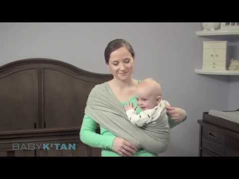 Baby K'tan Hip Position Instructions