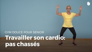 Exercice cardio  : pas chassés | Gym douce