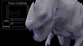 3D Dragon Design & Rigging