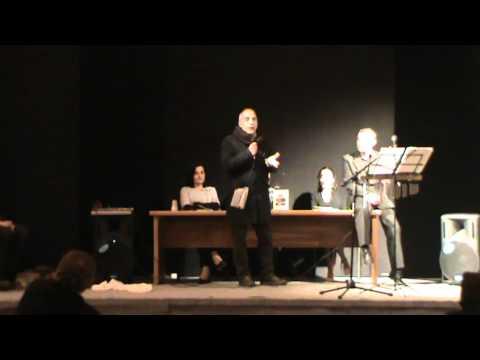 Intervento di Francesco Escalona alla presentazione de IL COSTRUTTORE DI ILLUSIONI