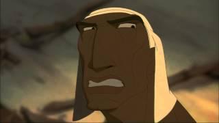 O Príncipe do Egito 1998 (Clip 4) - Moises foge do Egito