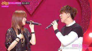 [Comeback Stage] SoYou X JunggiGo - Some, 소유 X 정기고 - 썸, Show Music core 20140208