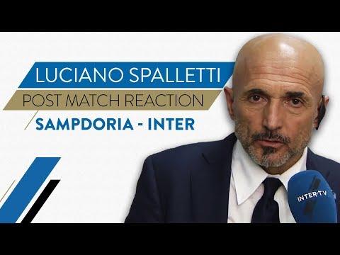 SAMPDORIA-INTER 0-1 | Luciano Spalletti interview | Post-match reaction