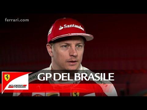 Il GP del Brasile con Kimi Raikkonen - Scuderia Ferrari 2016